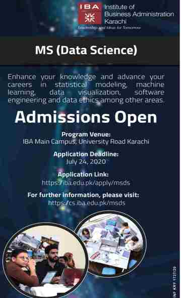 admission announcement of Institute Of Business Administration [khi]