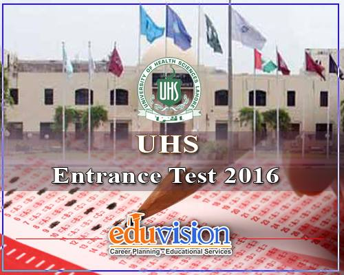UHS issues Medical Entry Test MCAT 2016 Answer Key