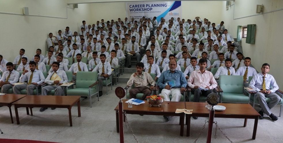 Career Planning Workshop at Cadet College Choa Saiden Shah