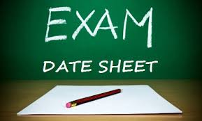 FBISE announced date sheet for HSSC examination 2017