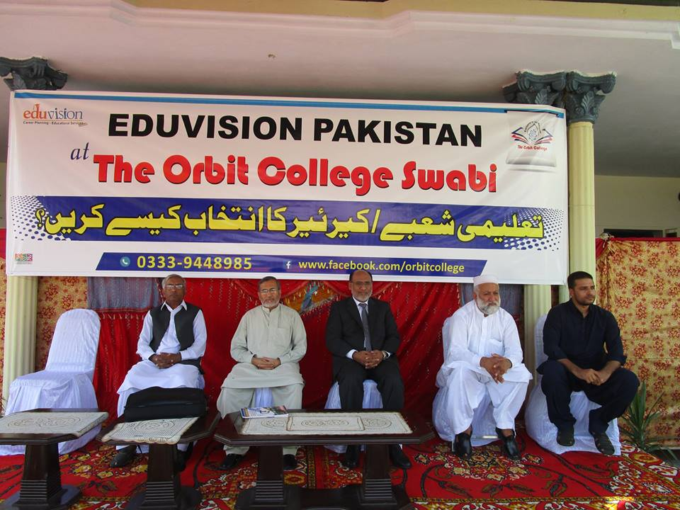 Career Planning Seminar at Orbit College Swabi