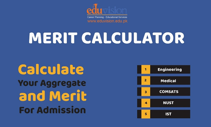 NUST Merit Calculator for Engineering NUST Merit List 2019