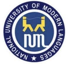 NATIONAL UNIVERSITY OF MODERN LANGUAGES ( HYDERABAD CAMPUS )